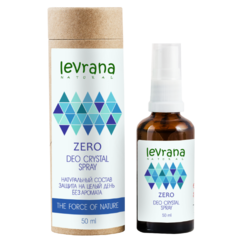 Levrana дезодорант zero без аромата 50 мл