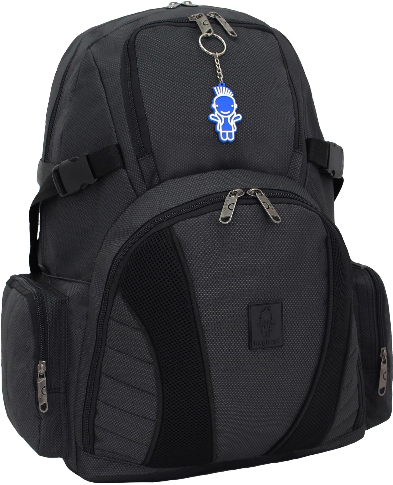 Городские рюкзаки Рюкзак Bagland Звезда 35 л. Чёрный (00188169) IMG_1228.JPG