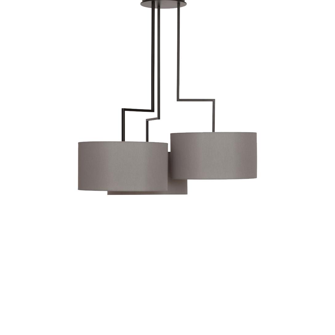 Потолочный светильник копия Noon 3 by Zeitraum (серый)