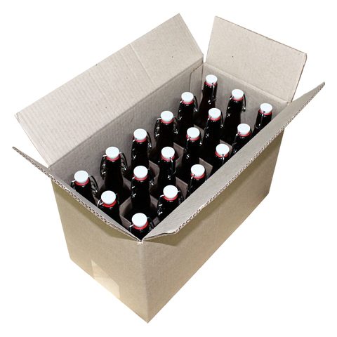 Бутылки с бугельной пробкой 0,5 л 18 шт