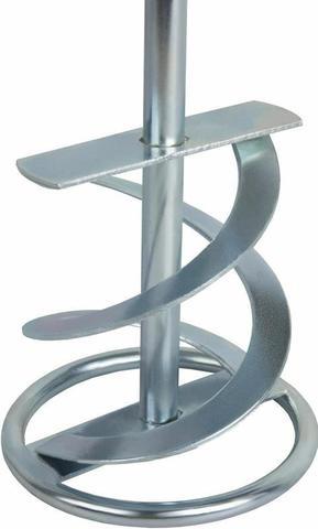 Насадка для перемешивания ПРАКТИКА хвостовик SDS-plus,  80 х 400, гипс, клей д/плитки (779-561)