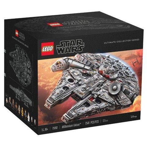 LEGO Star Wars: Сокол Тысячелетия 75192 — Millennium Falcon - UCS (2nd edition) — Лего Звездные войны Стар Ворз