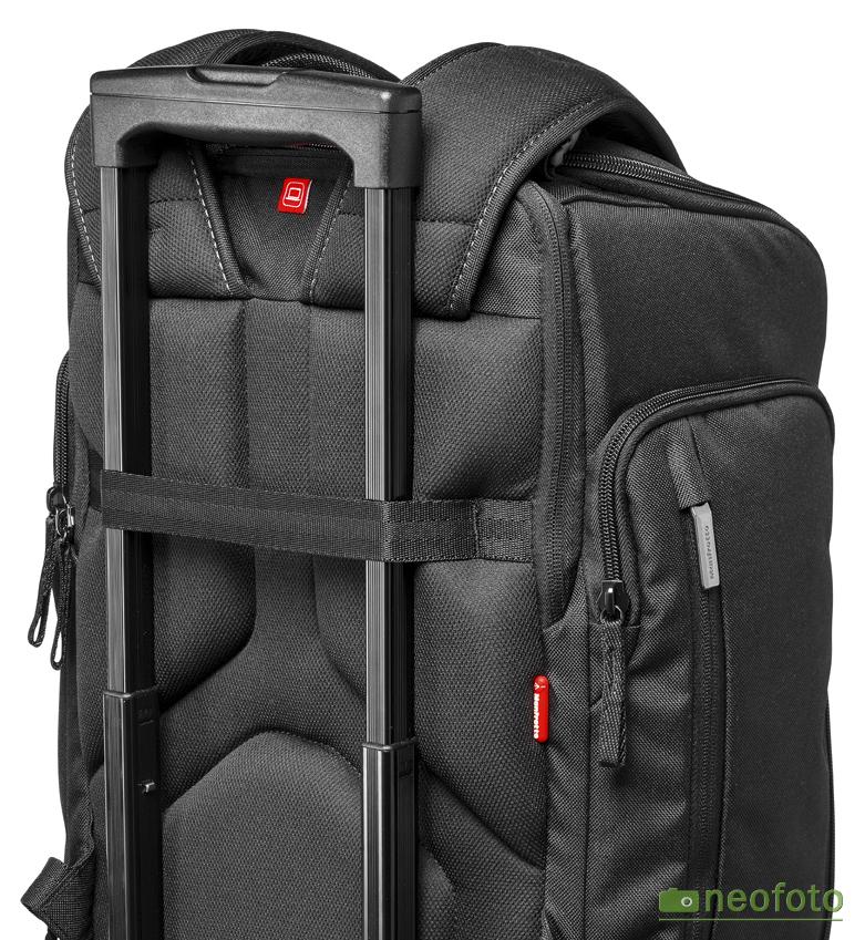 Возможно крепление Manfrotto MP-BP-20BB на выдвижную ручку сумки