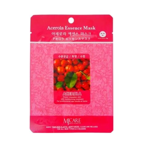 Маска тканевая с ацеролой Mijin Cosmetic Acerola Essence Mask