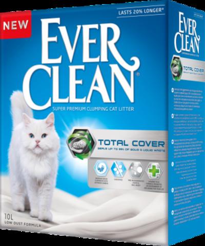Наполнитель Ever Clean Total Cover 10 л