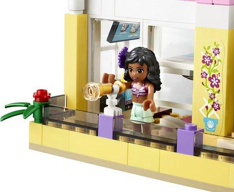 LEGO Friends: Пляжный домик Стефани 41037 — Stephanie's Beach House — Лего Френдз Друзья Подружки