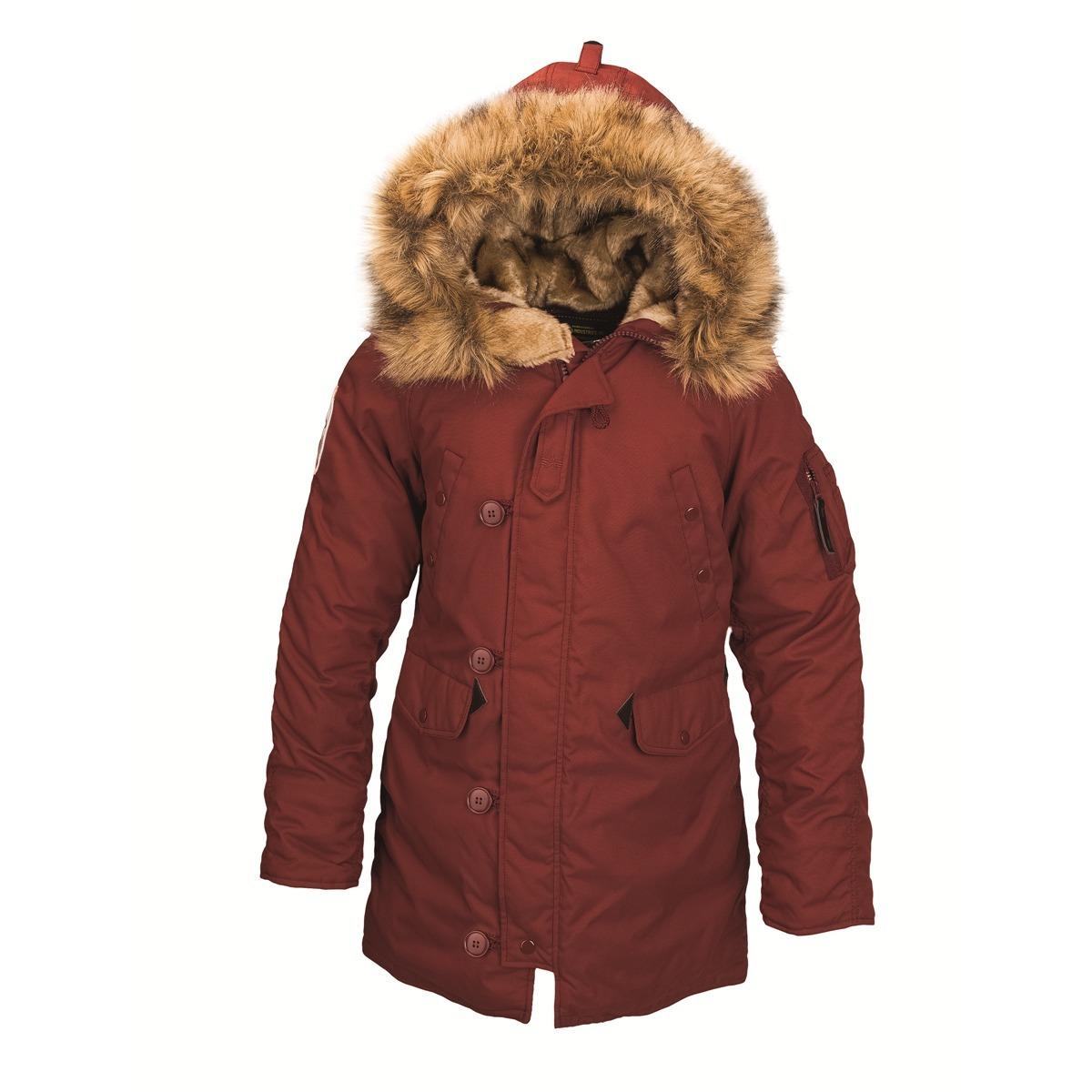 Куртка Аляска Женская - Altitude W Parka  (красно-коричневая - red ohre)