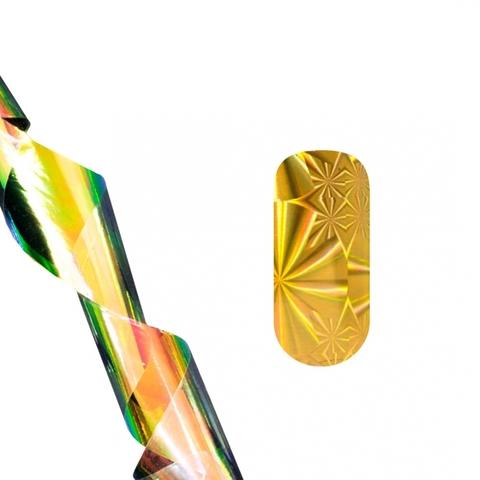 Фольга для литья (золотая абстракция) NEW