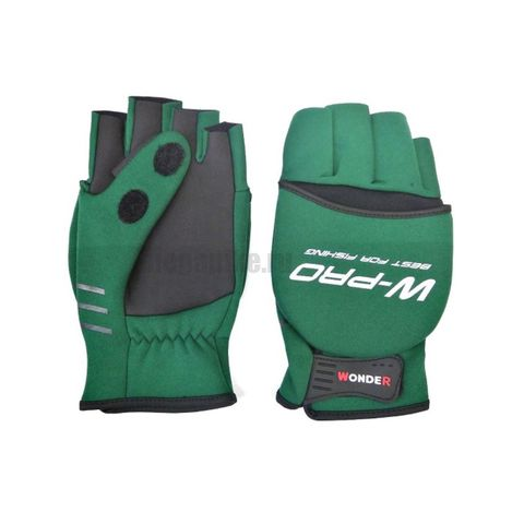 Перчатки Wonder зеленые WG-FGL / размер М