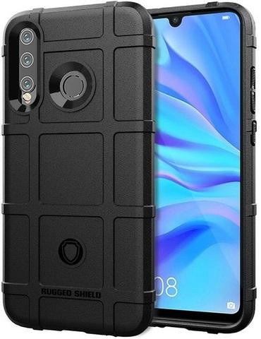 Чехол Huawei P30 Lite (Nova 4E) цвет Black (черный), серия Armor, Caseport