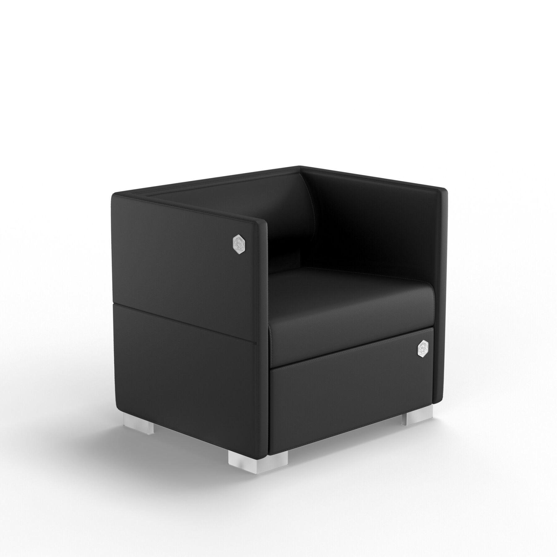 Мягкое кресло KULIK SYSTEM LOUNGE Экокожа 1