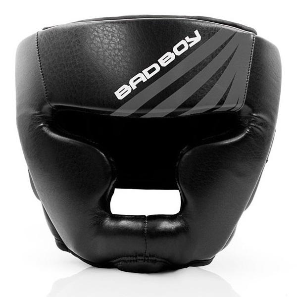 Шлемы Шлем Bad Boy Training Series Impact Head Guard-Black/Grey 1.jpg