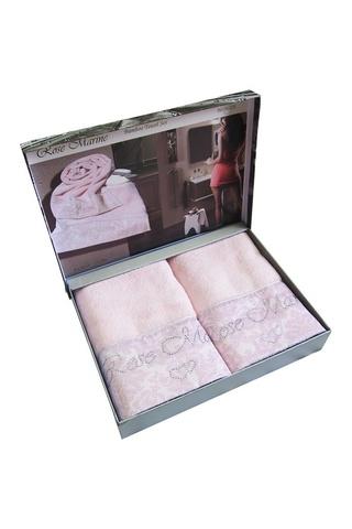 Набор полотенец  ROSE MARINE - РОЗ МАРИН 2пр 50х100 Maison Dor (Турция)