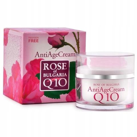 Крем против морщин Антивозрастной Q10 Rose of Bulgaria