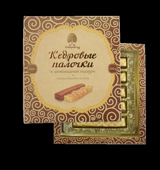 Конфеты Кедровые палочки в шоколадной глазури
