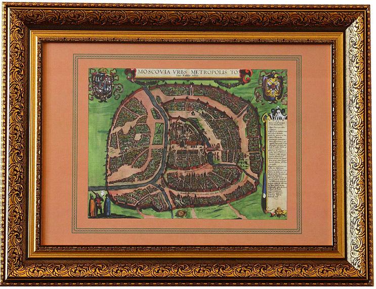«Москва, столичный город всей Белой Руссии»Иоанн Филипп Абелин Готфрид, Кёльн, 1610 г.