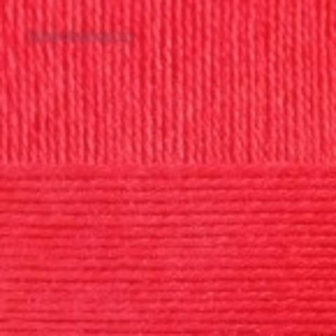 Бисерная 244 Алый - пряжа Пехорка в интернет-магазине