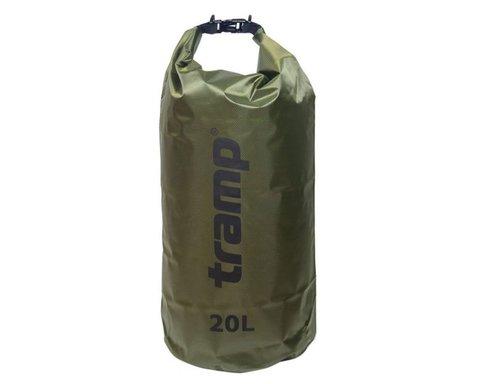 Гермомешок Tramp 20л TRA-113 (оливковый)