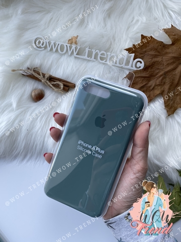Чехол iPhone 7+/8+ Silicone Case /pine green/ 1:1