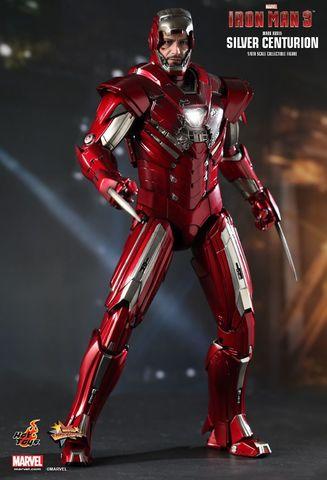 Iron Man 3 - Mark XXXIII Silver Centurion Figure