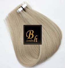 пепельный блонд волосы для ленточного наращивания