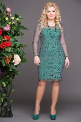 Платье Богиня зеленый
