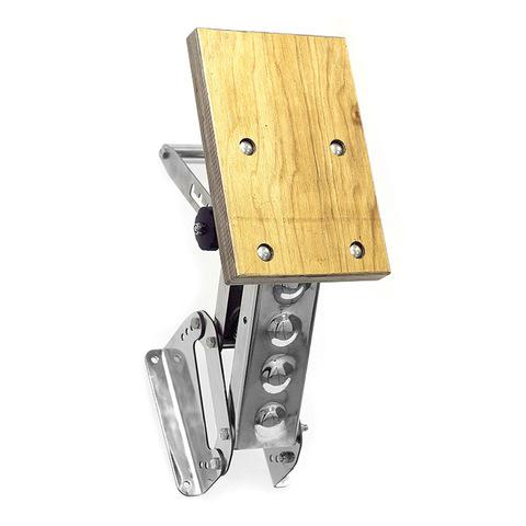 Транец выносной с регулировкой угла наклона для ПЛМ до 15 л.с. (45 кг) ФБС