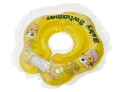 Baby Swimmer  Круг на шею  6-36 кг (желтый) (BS11-8)