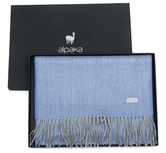 Коробка для шарфа 25х35х4 Alpaka черная