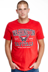 Футболка NHL Washington Capitals (29930) фото 2
