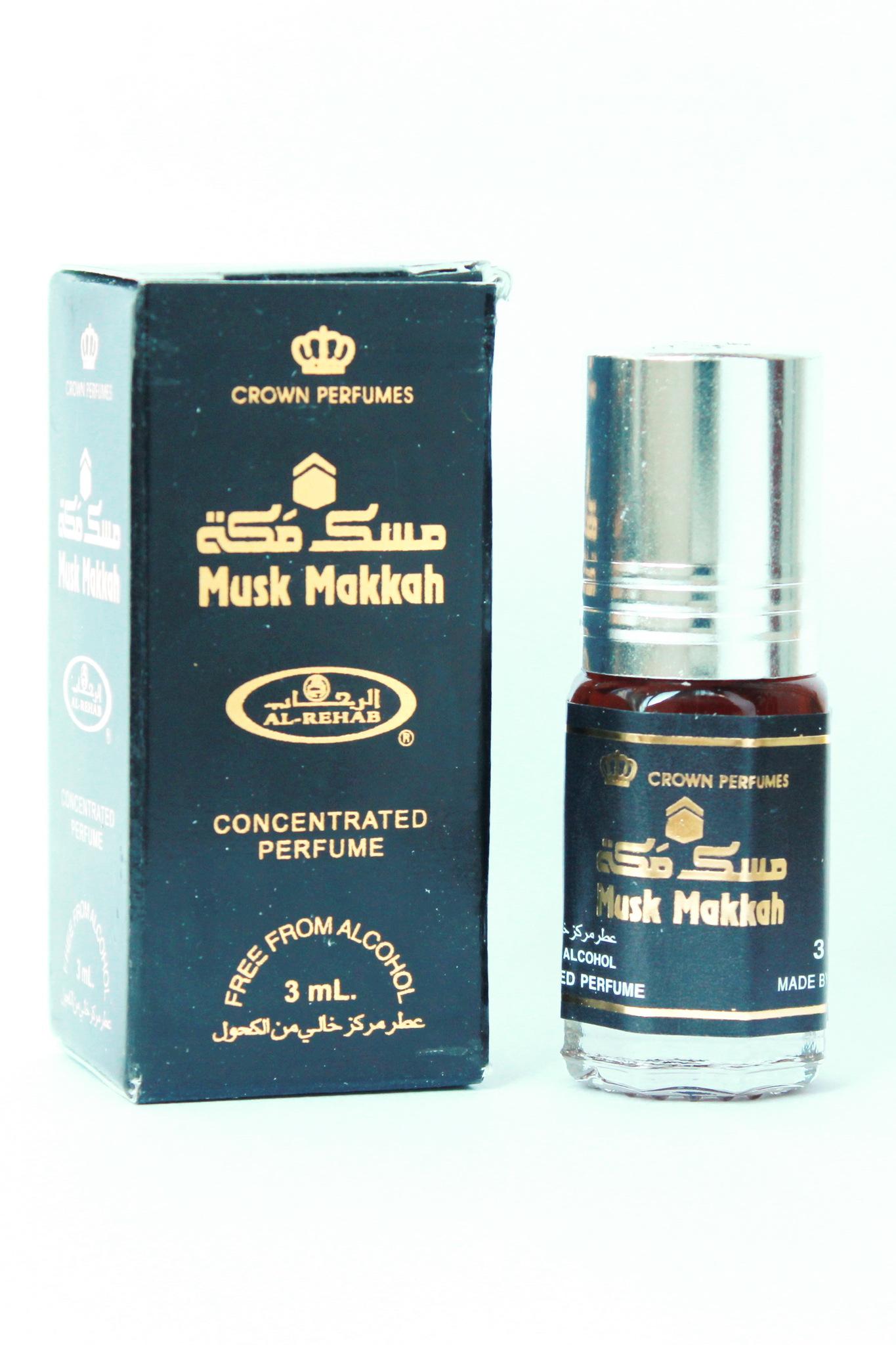 Musk Makkah 3 мл арабские мужские масляные духи от Аль Рехаб Al Rehab