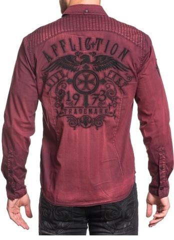 Affliction мужская рубашка 348
