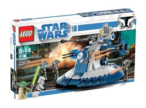 LEGO Star Wars: Бронированный штурмовой танк сепаратистов 8018 — Armored Assault Tank (AAT) — Лего Звездные войны Стар Ворз