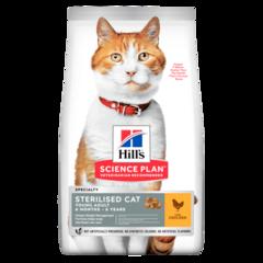 Корм для стерилизованных кошек Hill`s Science Plan Sterilised Cat Young Adult, с курицей