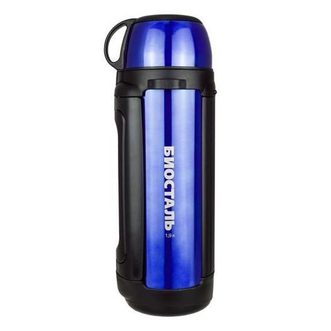 Термос универсальный (для еды и напитков) Biostal Авто (1,9 литра), синий