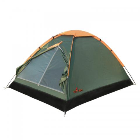Туристическая палатка TOTEM Summer 2 (V2) (зеленый)