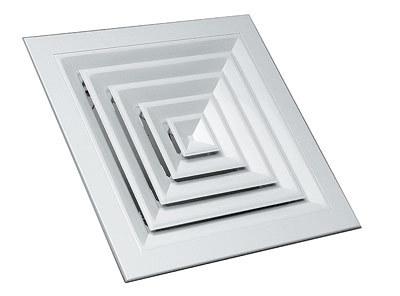 4VA. Решетки диффузорного типа потолочные Приточно-вытяжная решетка 600*600мм 4VA 5f5a3f423025afa3c846a72d8c486df1.jpg