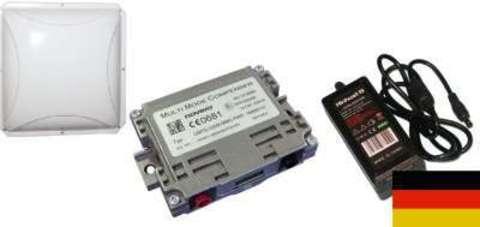 Novero Multimode-Compenser GSM/3G/UMTS (900/1800/2000) бустер с блоком питания 220В в комплекте с направленной антенной