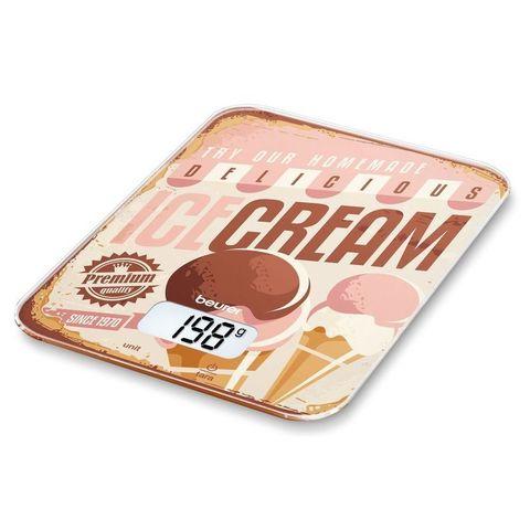 Весы кухонные электронные Beurer (B-KS19IC) Ice Cream макс.вес:5кг рисунок