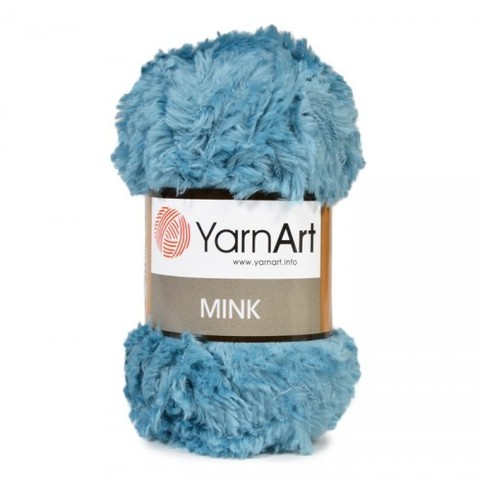 Пряжа YarnArt Mink - (349 бирюза)