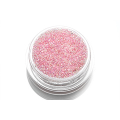 TNL, Бульонки стеклянные-розовая карамель, 3 гр