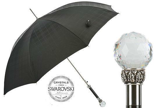 Зонт-трость Pasotti Luxurious Swarovski® , Италия (арт.478 6434-19 W01).