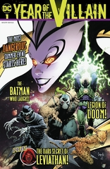 DC'S Year of the villain #1