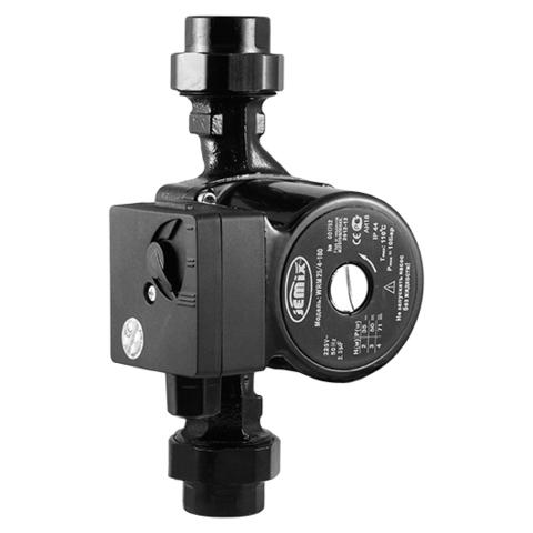 WRM-25/4-180, Серия WRM без кабеля Циркуляционный насос для отопления. (8 шт/уп)