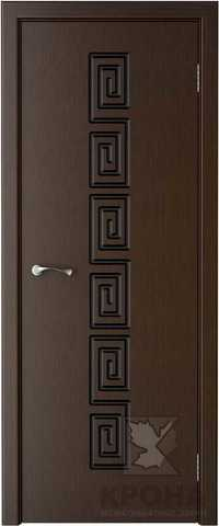 Дверь Крона Греция, цвет венге, глухая