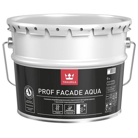 Tikkurila Euro Prof Facade Aqua / Тиккурила Евро Проф Фасад Аква силикономодифицированная фасадная краска