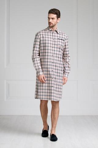 Мужская домашняя рубашка 61341  Laete