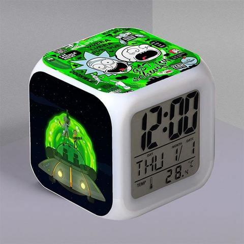 Часы-будильник с цитатами из