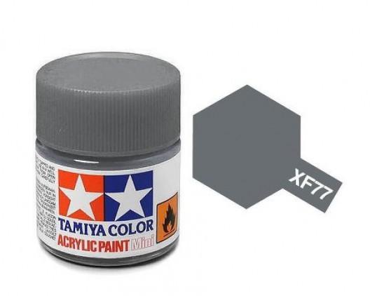 Tamiya Акрил XF-77 Краска Tamiya, Серый Матовый (IJN Gray Sasebo), акрил 10мл import_files_02_02759ceb5aac11e4bc9550465d8a474f_95b3156f5b6211e4b26b002643f9dbb0.jpg