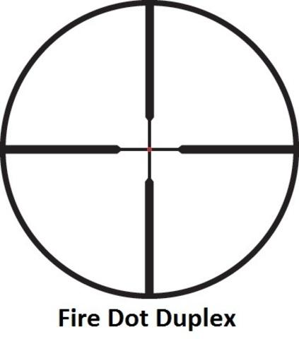 Оптический прицел Leupold VX-R 4-12x50 FireDot Duplex c подсветкой, 30 мм (111241)